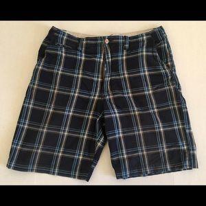 Colorado Preppy Classic Plaid Casual Shorts Sz 36